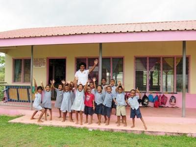Der Natalau Village Kindergarten ist eine unserer Einrichtungen im Sozialarbeits – Projekt auf Fidschi