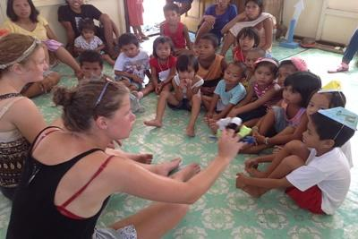 Freiwilligenarbeit auf den Philippinen