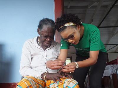 Freiwilligendienst in der Altenpflege in Jamaika
