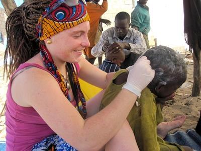 Freiwilligenarbeit mit Kindern im Senegal