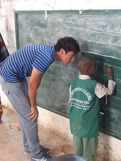 Sozialarbeit mit Kindern im Senegal