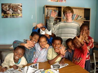 Sozialarbeit mit Kindern in Äthiopien