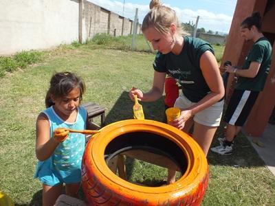 Leite als Freiwillige/r in Argentinien Nachmittagsaktivitäten für Kinder