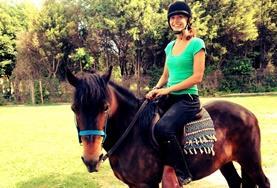 Neben der Therapiearbeit mit Patienten und Pferden wirst du im Pferdetherapie - Projekt in Argentinien auch Gelegenheit haben, selbst zu reiten.