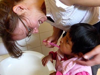 Sozialarbeit mit Kindern in Bolivien
