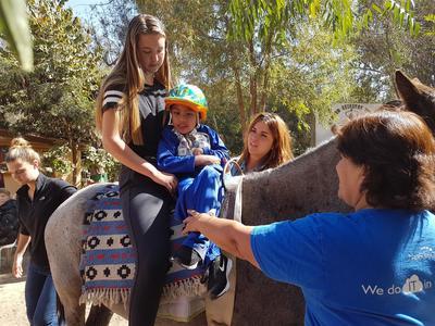 Pferdetherapie - Projekt in Bolivien