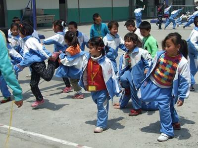 Freiwilligenarbeit mit Kindern in China