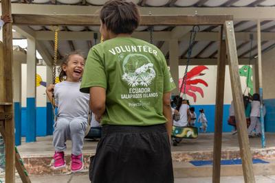 Freiwilligenarbeit im Kindergarten auf den Galapagos-Inseln