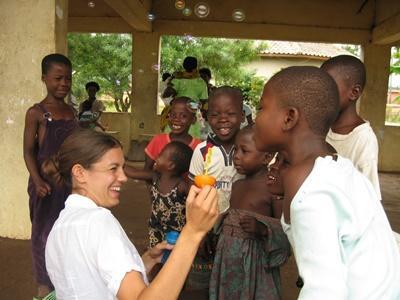 Freiwilligendienst mit Kindern in Ghana