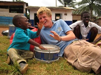 Sozialarbeit mit Kindern in Ghana