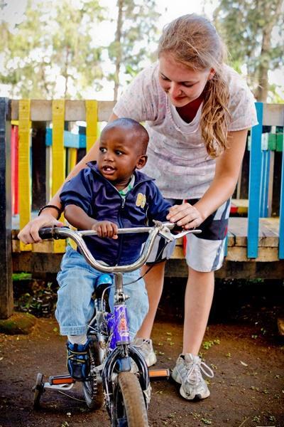 Sozialarbeit mit Kindern in Kenia