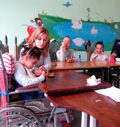 Freiwilligenarbeit mit Kindern in Marokko