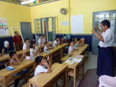 Sozialarbeits – Projekt in Myanmar