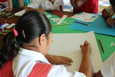 Unterricht auf Samoa