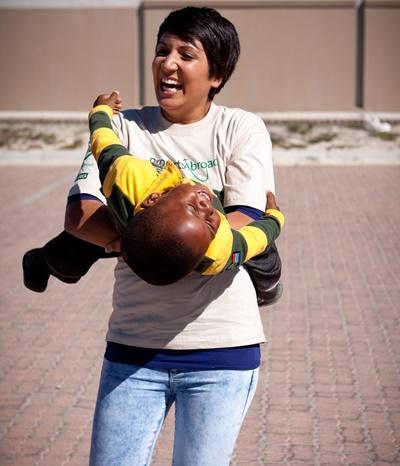 Freiwilligenarbeit mit Kindern in Südafrika