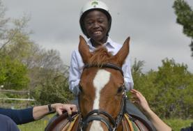 Projekte in Afrika - Südafrika : Pferdetherapie