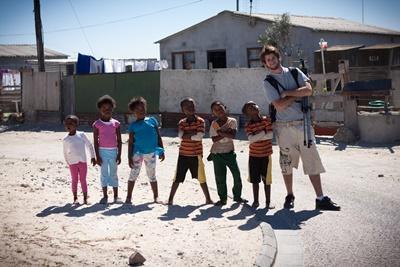 Hilfsprojekt Sozialarbeit in Südafrika
