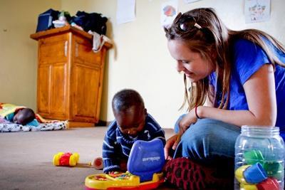Sozialarbeit mit Kindern in Südafrika