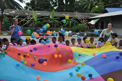 Kümmere dich als Freiwillige/r um Kinder im Sozialarbeits – Projekt