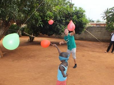 Sozialarbeit mit Kindern in Togo