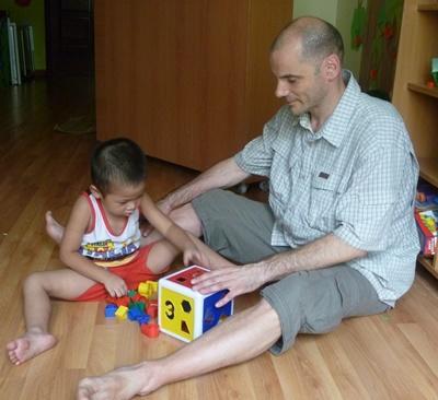 Sozialarbeit mit Kindern in Vietnam