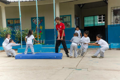 Freiwilligenarbeit Sport in Ecuador