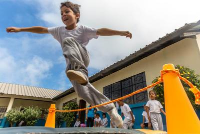 Leiste einen Freiwilligendienst Sport auf den Galapagos - Inseln