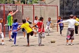 Als Freiwilige/r im Sport - Projekt in Äthiopien trainierst du Kinder und Jugendliche im Sportunterricht an ihren Schulen.