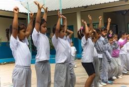 Sport und Bewegung sind wichtig für einen gesunden Lebensstil - dies kannst du deinen Schützlingen während deines Sportpraktikums in Ecuador vermitteln.