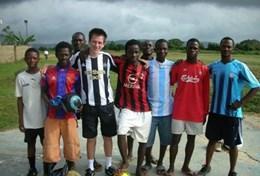 Auslandspraktikum Sport : Ghana