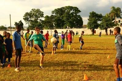 Sport unterrichten auf Jamaika