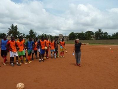 Sport unterrichten in Togo