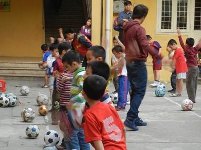 Sport unterrichten in Vietnam