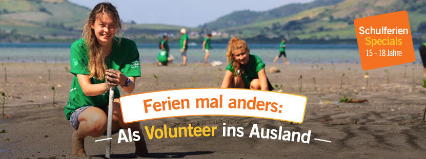 Freiwilligenarbeit Ferien