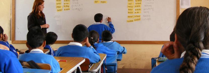 Unterrichten im Ausland