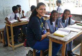 Projekte in Asien - Indien : Unterrichten