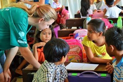 Unterrichte ehrenamtlich als LehrerIn auf den Philippinen
