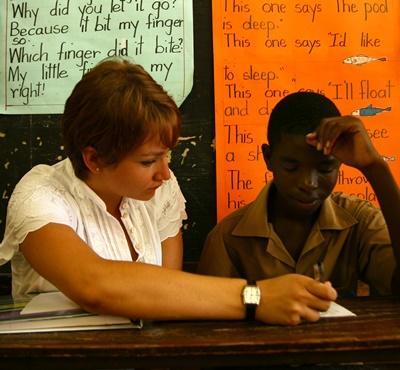 Englisch-Unterricht auf Jamaika