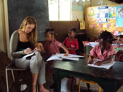 Unterrichten auf Jamaika