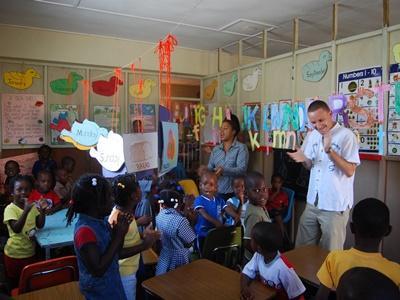 Unterrichts-Projekt auf Jamaika