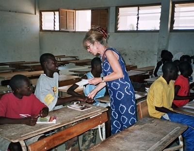Unterrichts-Projekt im Senegal