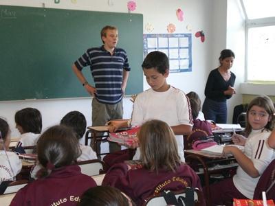 Unterrichts-Projekt in Argentinien title=