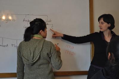 Unterrichten in Bolivien