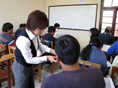 Unterrichts-Projekt in Bolivien