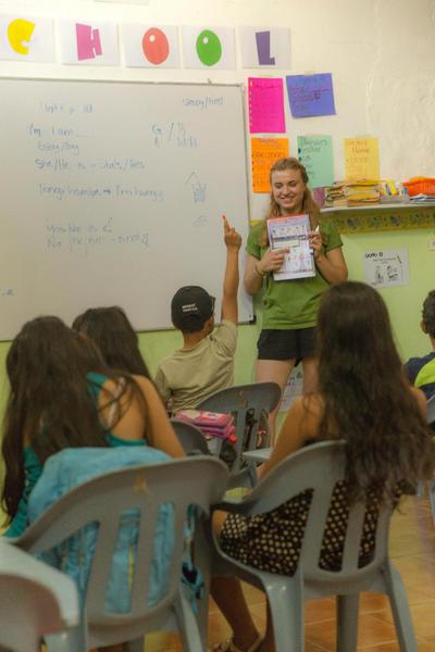 Freiwilligenarbeit im Unterrichts - Projekt auf den Galapagos - Inseln