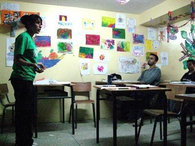 Unterrichten in Marokko