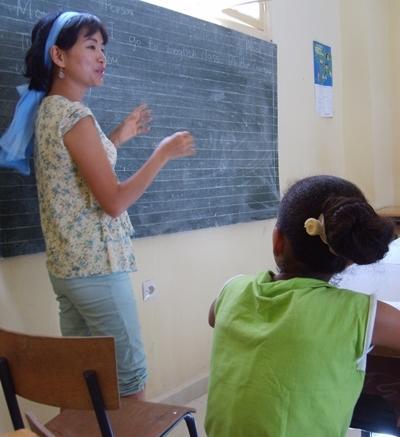 Unterrichts-Projekt in Marokko