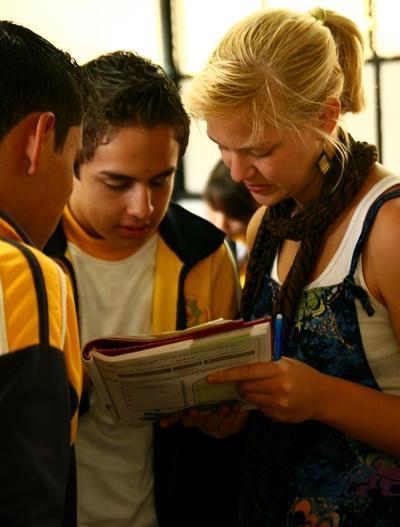 Unterrichts-Projekt in Mexiko