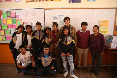 Freiwilligenarbeit als Lehrer im Unterrichts - Projekt in Cusco, Peru