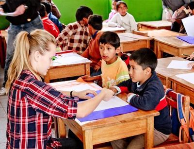 Freiwilligenarbeit Unterrichten in Peru